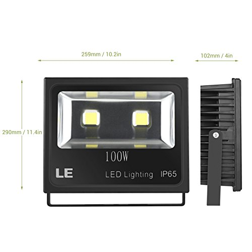 LE-100W-Super-Bright-Outdoor-LED-Flood-Lights-250W-HPS-Bulb-Equivalent-Waterproof-IP65-10150lm-Daylight-White-6000K-Security-Lights-Floodlight-5-Years-Warrenty-0-1