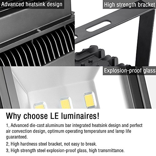 LE-150W-Super-Bright-Outdoor-LED-Flood-Lights-400W-HPS-Bulb-Equivalent-14500lm-Daylight-White-6000K-Security-Lights-Floodlight-0-1