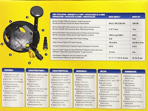 Laguna-PowerJet-600-FountainWaterfall-Pump-Kit-for-Ponds-Up-to-1200-Gallon-0-0