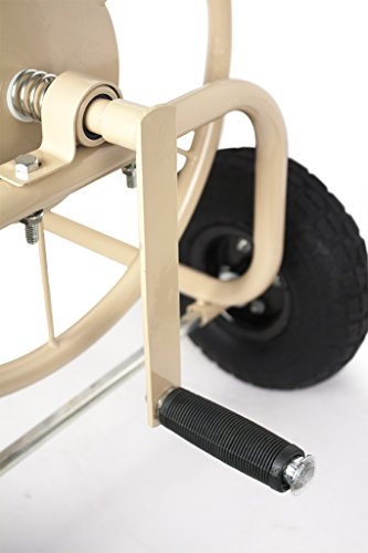 Liberty-Garden-Products-870-M1-2-Industrial-300-4-Wheel-Garden-Hose-Reel-Cart-Tan-0-1