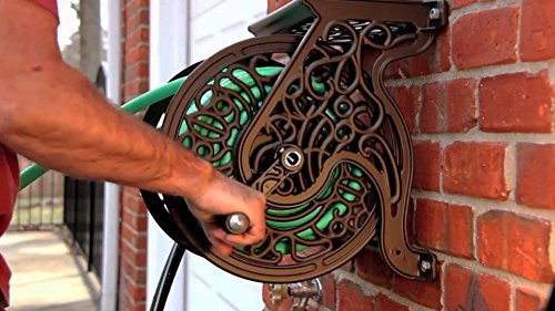 Liberty-Garden-Products-Decorative-Non-Rust-Cast-Aluminum-Wall-Mounted-Garden-Hose-Reel-With-125-Foot-Capacity-Antique-Finish-704-0-1