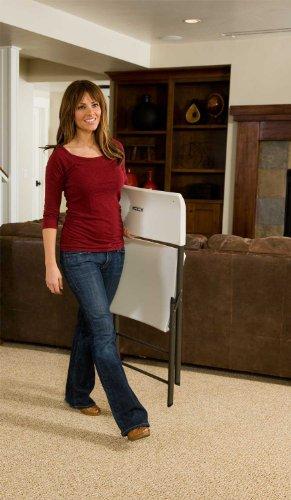 Lifetime-80191-Light-Commercial-Folding-Chair-White-Granite-with-Gray-Frame-4-Pack-0-1