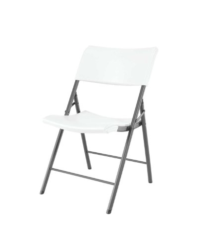 Lifetime-80191-Light-Commercial-Folding-Chair-White-Granite-with-Gray-Frame-4-Pack-0