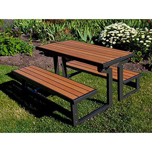 Lifetime-Products-Wood-Grain-Convertible-Folding-Picnic-Table-0-0