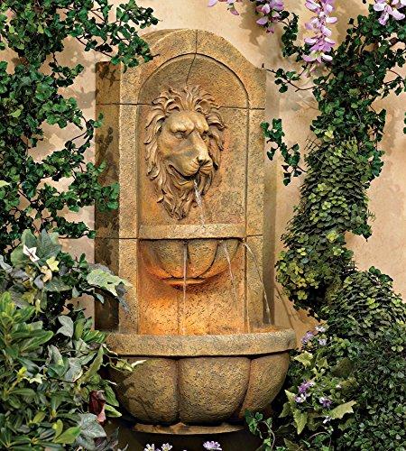 Lion-Head-Faux-Stone-Wall-Fountain-0-0