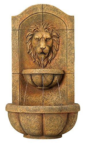 Lion-Head-Faux-Stone-Wall-Fountain-0