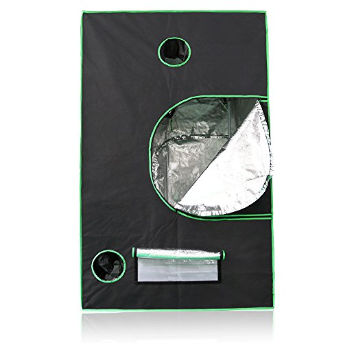Lumin-Tekco-Hydroponic-Indoor-Grow-Tent-Mylar-Hydroponic-Grow-Room-for-Efficient-Indoor-Plant-Growth-48x48x80-0-1