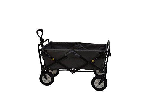 Mac-Sports-Collapsible-Folding-Utility-Wagon-Dark-GrayBlack-0-0