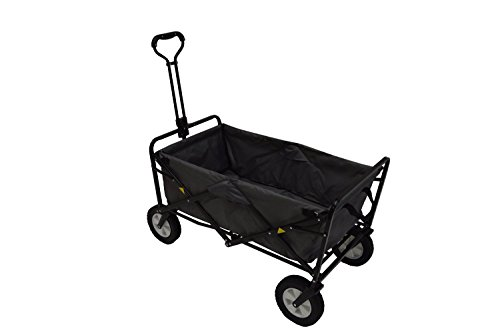 Mac-Sports-Collapsible-Folding-Utility-Wagon-Dark-GrayBlack-0-1