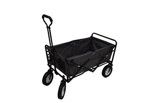 Mac-Sports-Collapsible-Folding-Utility-Wagon-Dark-GrayBlack-0