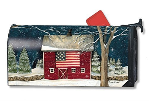 MailWraps-Winter-Barn-Mailbox-Cover-01264-by-MailWraps-0