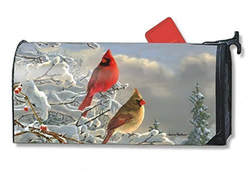 MailWraps-Winter-Cardinals-Mailbox-Cover-01267-by-MailWraps-0