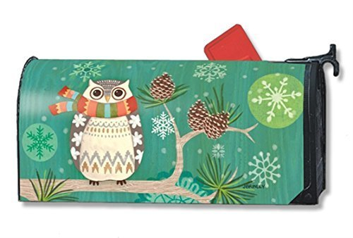 MailWraps-Winter-Owl-Mailbox-Cover-01261-by-MailWraps-0