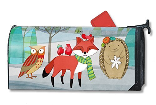 MailWraps-Woodland-Friends-Mailbox-Cover-01056-by-MailWraps-0