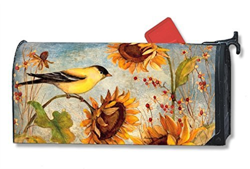 MailWraps-Yellow-Finches-Mailbox-Cover-01226-by-MailWraps-0