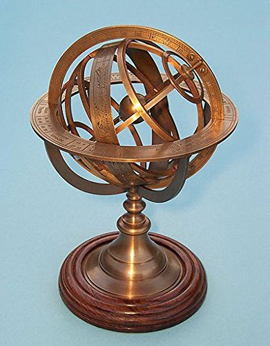 Medium-Solid-Brass-Armillary-Sphere-0