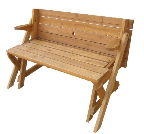 Merry-Garden-Interchangeable-Picnic-Table-and-Garden-Bench-0-1