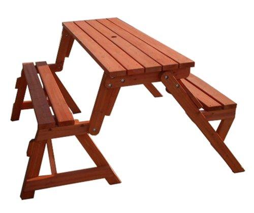 Merry-Garden-Interchangeable-Picnic-Table-and-Garden-Bench-0