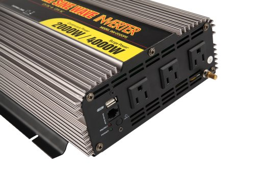 MicroSolar-12V-2000W-Peak-4000W-Pure-Sine-Wave-Inverter-with-Battery-Cable-Remote-Wire-Controller-0-1