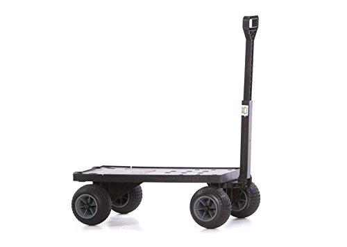 Mighty-Max-Cart-FB600ABG-Flatbed-Yard-Cart-with-All-Terrain-Weatherproof-Wheels-0