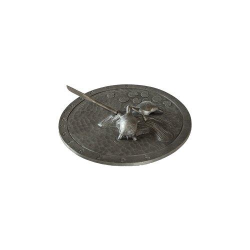 Montague-Metal-Products-Turtle-Sundial-Swedish-Iron-0