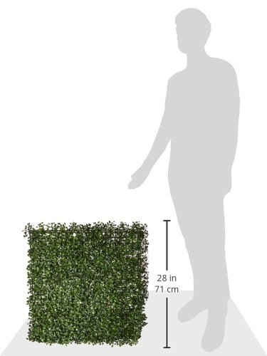 NatraHedge-Artificial-Boxwood-Hedge-Mat-20x-20-Panels-12-Pack-0-4