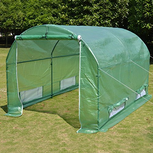 New-BENEFITUSA-Hot-Green-House-10x7x6-Larger-Walk-In-Outdoor-canopy-gazebo-Plant-Gardening-Greenhouse-0