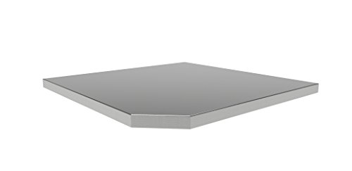 NewAge-Products-36173-Bold-30-Series-Corner-Stainless-Steel-Worktop-0
