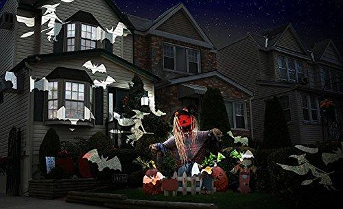 Night-Stars-Celebration-Series-LED-Image-Motion-Projection-Light-w-12-Festive-Slides-Christmas-Halloween-St-Patricks-Day-Many-Holidays-0-0