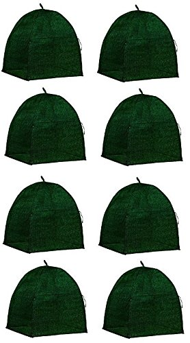 NuVue-20253-36-x-36-x-38-Green-Frost-Proof-Winter-Shrub-Protector-Covers-Quantity-8-0
