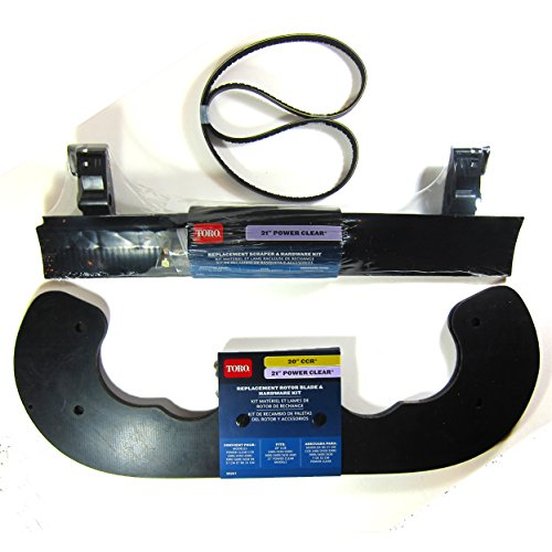 OEM-Toro-Power-Clear-721-Snowblower-Paddle-38261-Scraper-38269-V-Belt-121-6622-0