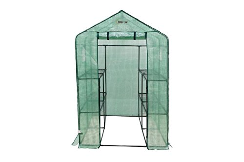 Ogrow-Large-Heavy-Duty-WALK-IN-2-Tier-8-Shelf-Portable-Lawn-and-Garden-Greenhouse-0-0