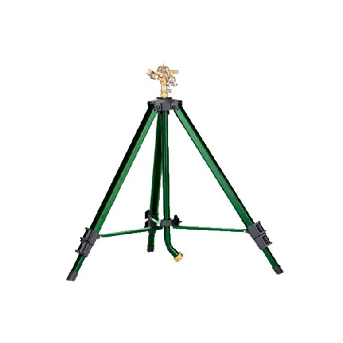 Orbit-Heavy-Duty-Brass-Lawn-Impact-Sprinkler-on-Tripod-Base-Water-Yard-58308N-0