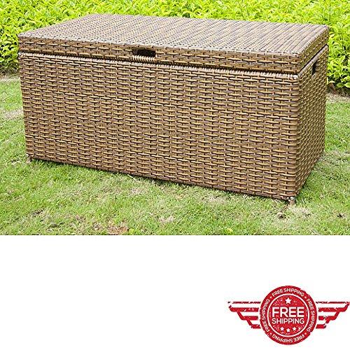 Outdoor-Storage-CabinetLawn-Garden-YardBench-Chest-FurnitureLift-Door-Weather-Sun-Resistant-CupboardHome-Balcony-Store-Organizer-Ebook-by-Easy-2-Find-0-0