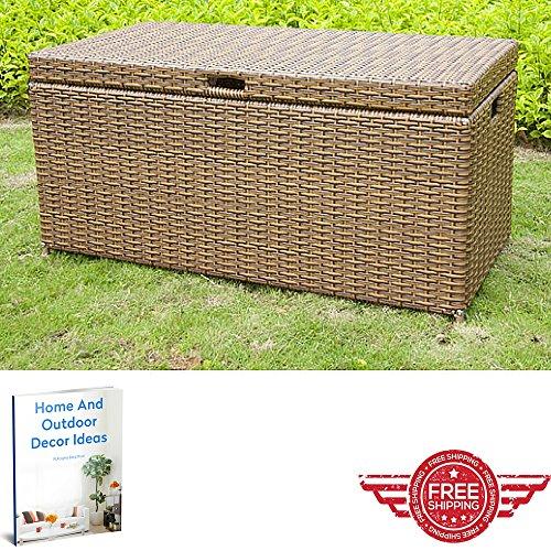 Outdoor-Storage-CabinetLawn-Garden-YardBench-Chest-FurnitureLift-Door-Weather-Sun-Resistant-CupboardHome-Balcony-Store-Organizer-Ebook-by-Easy-2-Find-0