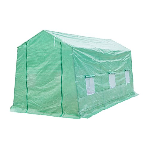 Outsunny-15-x-7-x-7-Portable-Walk-In-Garden-Greenhouse-Deep-Green-0-0