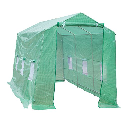 Outsunny-15-x-7-x-7-Portable-Walk-In-Garden-Greenhouse-Deep-Green-0