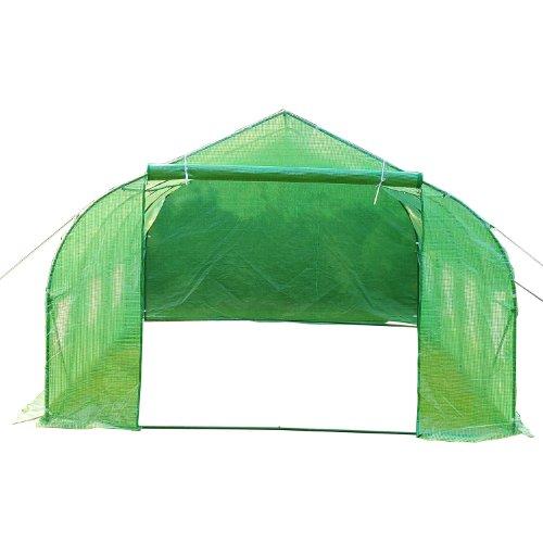 Outsunny-20-x-10-x-7-Portable-Walk-In-Steeple-Garden-Greenhouse-0-1