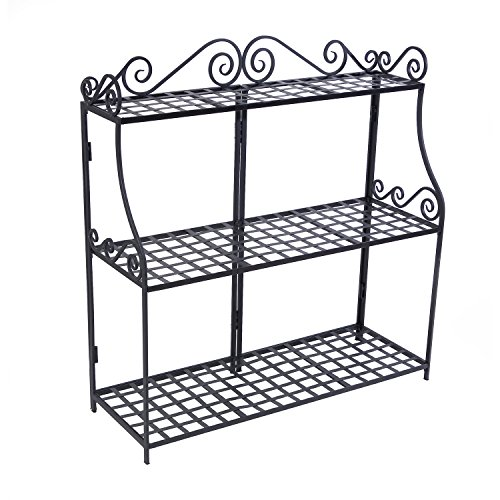 Panacea-Products-Forged-3-Tier-Plant-Stand-Black-0