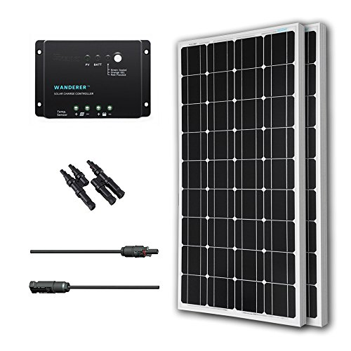 Renogy-200-Watts-12-Volts-Monocrystalline-Solar-Bundle-Kit-0