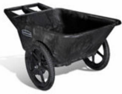 Rubbermaid-Commercial-Prod-5642-00-BLA-Big-Wheel-Garden-Cart-Pneumatic-Tires-Black-75-Cu-Ft-Holds-300-Lbs-0