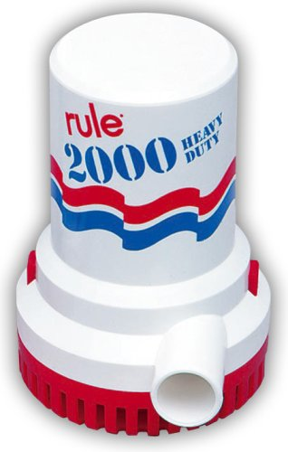 Rule-10-Bilge-Pump-2000-Gallon-Per-Hour-12-Volt-DC-Non-Automatic-0