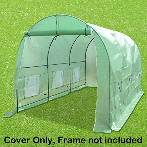 STRONG-CAMEL-Hot-Green-House-Cover-for-12-X-7-X-7-Larger-Walk-In-Outdoor-Plant-Gardening-Greenhouse-FRAME-DOES-NOT-INCLUDED-0