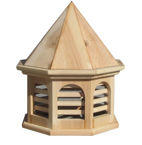 SamsGazebos-English-Cottage-Garden-Octagon-Cupola-15-x-15-x-18-Tall-Unfinished-0