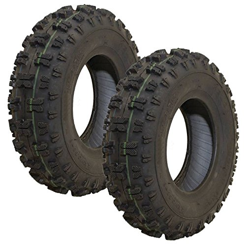 Set-Of-2-Kenda-OEM-Snow-Blower-Tire-410x350X6-Polar-Trac-2-Ply-0