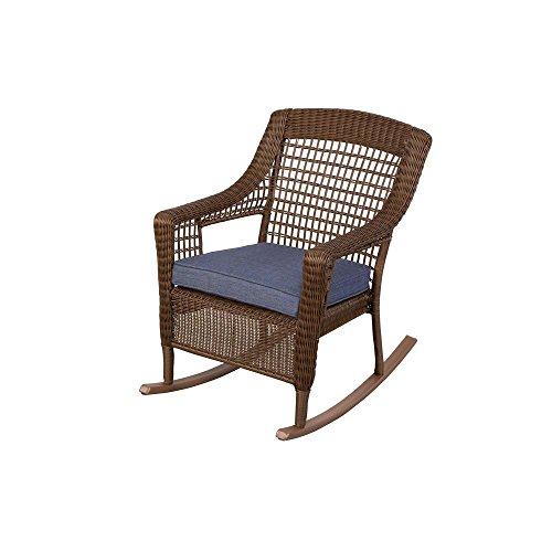 Spring-Haven-Brown-All-Weather-Wicker-Patio-Rocking-Chair-with-Sky-Cushion-0