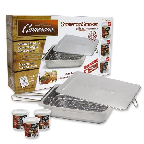 Stovetop-Smoker-Camerons-Stainless-Steel-Smoker-with-Wood-Chips-Works-over-any-heat-source-indoor-or-outdoor-0
