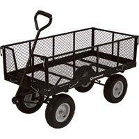 Strongway-Jumbo-Wagon-48inL-x-24inW-1400-Lb-Capacity-0-0