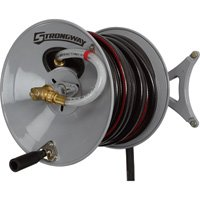 Strongway-Parallel-or-Perpendicular-Wall-Mount-Garden-Hose-Reel-Holds-150ft-x-58in-Hose-0-0
