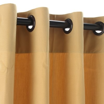 Sunbrella-Outdoor-Curtain-with-Grommets-Wheat-50W-x-84L-0